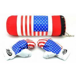 Teddies Boxovací pytel a rukavice