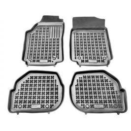 REZAW-PLAST Gumové koberce, sada 4 ks (2x přední, 2x zadní), Audi 100 1982-1994, Audi A6 1994-1997 a Audi A6 Avant 1994-1997