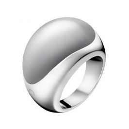 Calvin Klein Ocelový prsten s kamenem Ellipse KJ3QWR0201 (Obvod 57 mm)
