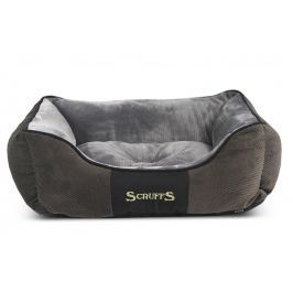 Scruffs Chester Box Bed šedý vel. S