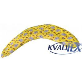 Kvalitex Polštář na kojení Milánek, Slůňata žlutá