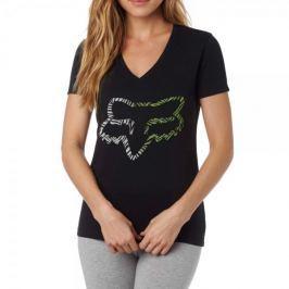 FOX dámské tričko Phoenix V Neck Ss Tee XS černá