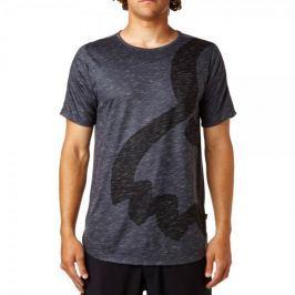 FOX pánské tričko Eyecon Ss Knit S tmavě šedá
