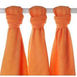 XKKO Bambusové pleny 70x70cm - 3ks - Oranžové