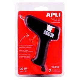 Pistole tavná APLI malá +2 tyčinky 7,5 mm