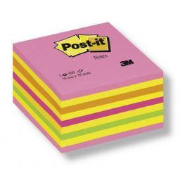 Blok samolepicí Post-it 76 x 76 mm růžový neon