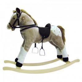 Bino Puntík-houpací kůň, plyš, maxi