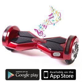 Kolonožka Premium s mobilní aplikací a BT reproduktorem, červená