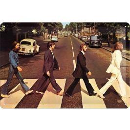 Postershop Plechová cedule Beatles Abbey Road
