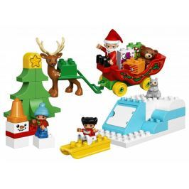 LEGO DUPLO® 10837 Santovy Vánoce