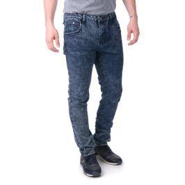 Brave Soul pánské jeansy Fullerton 32/32 modrá