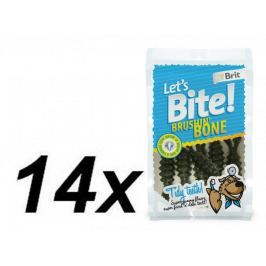 Brit Lets Bite Brushin' Bone 14x90 g