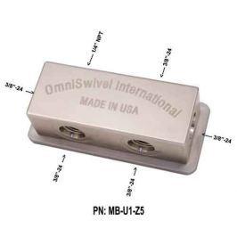 OmniSwivel Manifold středotlaký 1 port NPT 1/4
