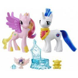 My Little Pony Set dvou poníků s doplňky Princess Cadance