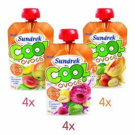 Sunárek Cool ovoce mix příchutí 12x120g