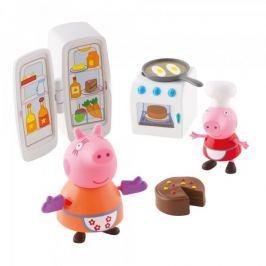 TM Toys Peppa Pig - kuchyňská sada + 2 figurky