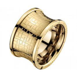 Tommy Hilfiger Originální zlatý prsten z oceli TH2700817 (Obvod 54 mm)