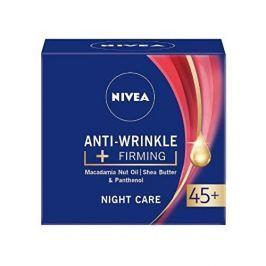 Nivea Zpevňující noční krém proti vráskám 45+ (Anti-Wrinkle + Firming) 50 ml