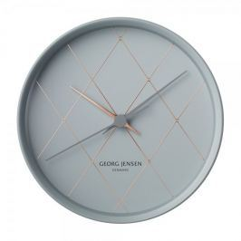 Georg Jensen Nástěnné hodiny HK, harlekýn, 22 cm