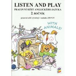 Listen and play - WITH ANIMALS!, (pracovní sešit)