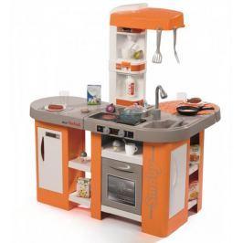 Smoby Kuchyňka Tefal Studio XL Bubble oranžovo-šedá, elektronická