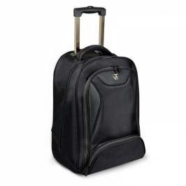 Port Designs Manhattan batoh na kolečkách na 15,6'' notebook a 10,1'' tablet, černý