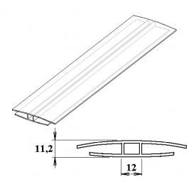 LanitPlast Polykarbonátový H-profil 8 mm 3 m