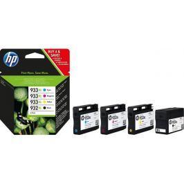 HP sada inkoustů HP 932XL černá + 933XL azurová, purpurová a žlutá (C2P42AE)