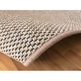 Kusový světle béžový koberec Nature 140x200 cm