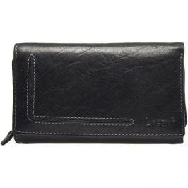 Lagen Dámská kožená peněženka Black HT 32/T