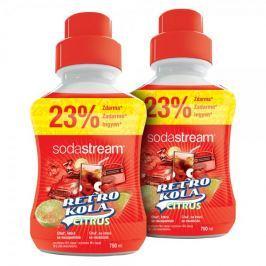 Sodastream Příchuť Retro Kola Citrus 2x 750 ml