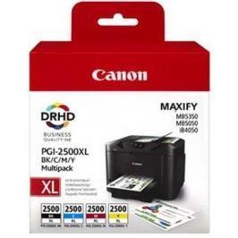 Canon PGI-2500XL C/M/Y/BK Multipack (9254B004), barevná