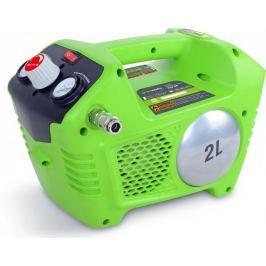 Greenworks Aku bezolejový kompresor (G40AC)
