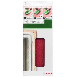 Bosch Sada brusných papírů 10 ks (93x230mm)