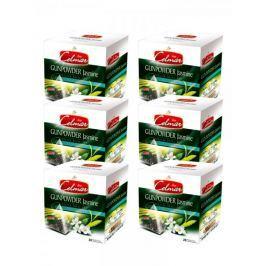 Celmar Gunpowder Jasmine zelený čaj, 20 pyramidových sáčků. 6 balení