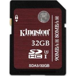 Kingston SDHC 32GB 90MB/s UHS-I U3 (SDA3/32GB)