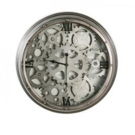 Papillon Nástěnné hodiny kovové Loft, 60 cm