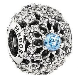 Pandora Stříbrný klip Disney Popelčino přání 791592CFL stříbro 925/1000