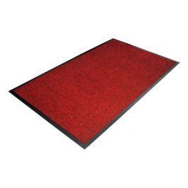 Červená textilní čistící vnitřní vstupní rohož - 120 x 90 x 0,7 cm
