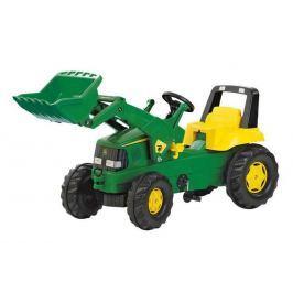 Rolly Toys Šlapací traktor Rolly Junior John Deere s předním nakladačem