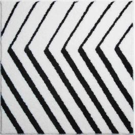 GRUND Česká koupelnová předložka, STRIPE 90x90 cm, bílá