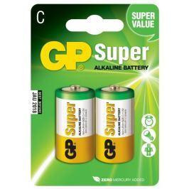 GP Alkalické baterie GP Super (C), 2 ks