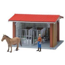 Bruder 62520 Stáj s koněm, figurkou a příslušenstvím