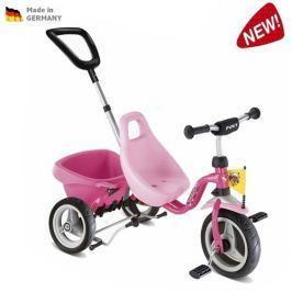 Puky CAT 1 S – Carry Touring Tipper tříkolka – růžová