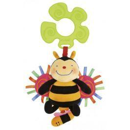 K´s Kids Včelka chrastící, natahovací s úchytem na kočárek