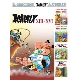 Goscinny R., Uderzo A.,: Asterix XIII - XVI
