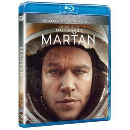 Marťan (verze 2D+3D)   - Blu-ray