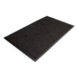 Černá textilní čistící vnitřní vstupní rohož - 120 x 90 x 0,7 cm