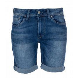 Pepe Jeans dámské kraťasy Poppy 25 modrá
