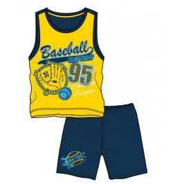 Mix 'n Match chlapecký letní set 98 žlutá/modrá